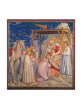 Life of Christ, The Adoration of the Magi Prints by  Giotto di Bondone
