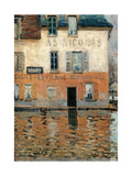 Flood at Port Marly Posters by Alfred Sisley