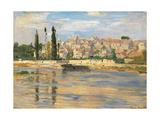 Carrires Saint Denis Prints by Claude Monet