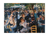 Dance at the Moulin de la Galette Premium gicléedruk van Pierre-Auguste Renoir