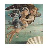 Birth of Venus, Zephyrus and Aura Affiches par Sandro Botticelli