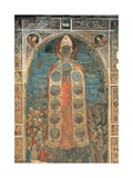 Madonna of Mercy Plakater af Bernardo Daddi