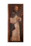 St. Thomas Aquinas Plakater af Bernardino Luini