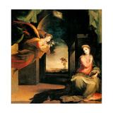 Annunciation Prints by Domenico Beccafumi