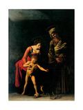 Madonna Palafrenieri Poster tekijänä  Caravaggio