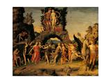 Parnassus Prints by Andrea Mantegna