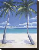 Postcard from Paradise Stretched Canvas Print by Paul Kenton