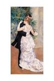 City Dance Poster by Pierre-Auguste Renoir