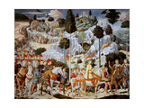 Journey of the Magi Plakat af Benozzo Gozzoli
