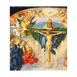 Adoration of the Holy Trinity (Landauer Altarpiece) Affiches par Albrecht Dürer