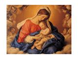 Sleep of the Infant Jesus Prints by  Giovanni Battista Salvi da Sassoferrato