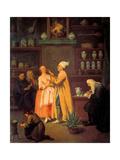 Apothecary Láminas por Pietro Longhi