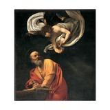 St. Matthew and the Angel Julisteet tekijänä  Caravaggio