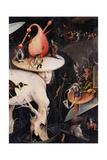 Garden of Earthly Delights-Hell Music Kunstdrucke von Hieronymus Bosch
