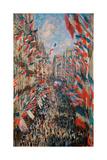 Rue Montorgueil, Paris, Festival of June 30, 1878 Posters por Claude Monet
