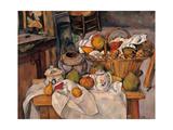 Still life in the Basket Julisteet tekijänä Paul Cézanne
