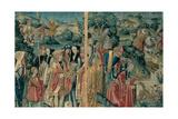 Tapestry with Hunting Scene, Flemish, 1470-1480. Urbino, Italy Kunst av  Flemish weavers