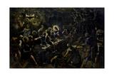 La última cena Last Supper Láminas por  Tintoretto