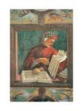 Dante Alighieri Poster by Luca Signorelli
