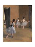 Sheaves Late Summer, Morning Effect Posters par Edgar Degas
