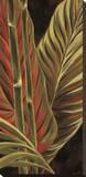 Makatea Leaves I Stampa su tela di Yvette St. Amant