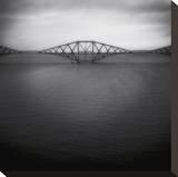 Forth Rail Bridge II Kunst op gespannen canvas van Jamie Cook