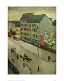 Our Street in Grey, 1911 Giclee Print by Auguste Macke