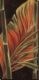 Makatea Leaves II Stampa su tela di Yvette St. Amant