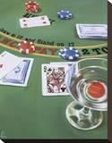 Blackjack Stretched Canvas Print by Paul Kenton