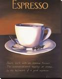 Urban Espresso Stretched Canvas Print by Paul Kenton