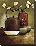 Salón de té de Takara Reproducción de lámina sobre lienzo por Krista Sewell