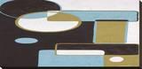 Effervescence I Stampa su tela di Yvette St. Amant