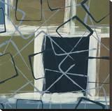 Retro Flux II Stretched Canvas Print by Leslie Bernsen