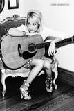 Carrie Underwood B/W Kunstdrucke