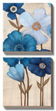 Fleurs Bleues I Posters by  Maja