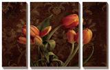 Fleur De Lis Tulips Prints by Janel Pahl