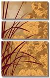 Golden Flourish I Prints by Edward Aparicio