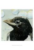 Bubbles - Birdbath Affiche par Dlynn Roll