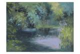 Monet's Garden VIII Affiches par Mary Jean Weber