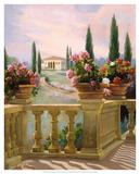 Tuscany Morning Giclee Print by Carolyne Hawley