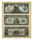 Antique Currency VI Giclee-trykk av  Vision Studio