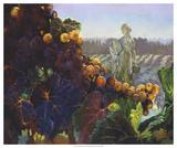 Tuscany Bounty Giclee Print by Clif Hadfield