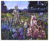 Garden Wait Giclee Print by Clif Hadfield
