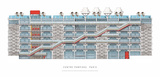 Centre Georges Pompidou, Paris Prints by Renzo Piano