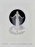 Veil Gown Samlertryk af  Erté