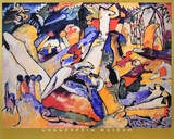 Sketch for Composition II Samlertryk af Wassily Kandinsky