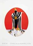 Monaco Collectable Print by  Erté