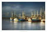 Shrimp Boats I Giclee Print by Danny Head
