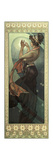 The Moon and the Stars: Pole Star, 1902 Giclée-tryk af Alphonse Mucha