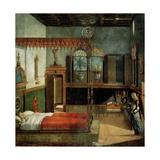 Dream of St.Ursula, 1495 Giclée-tryk af Vittore Carpaccio